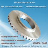 工場精密EDM CNCの機械化の部品を製粉するカスタムギヤアルミニウム