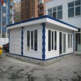 Casa de contenedores de paquete plano como edificio de oficinas prefabricadas