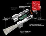 Kit di rame del faro del dissipatore di calore 8000lm LED dei pezzi di ricambio senza ventilatore 9004/9007