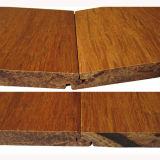 Revêtement de sol en bambou à base de carbone solide T & G