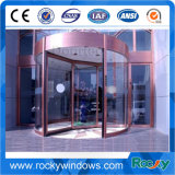 Vidro novo Design rochosa porta giratória para o hotel e o aeroporto