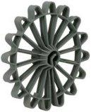 Конкретные пластичные прокладки колеса Rebar
