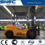 Forklift novo de levantamento do diesel do motor de China 6m Japão
