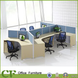 Aluminiumrahmen-Partition-Möbel-Büro-Zelle-Arbeitsplatz