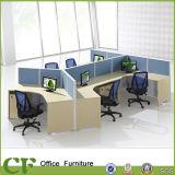 Tables de partition en bois de bureau de meubles de cpc avec le bâti d'Aminum