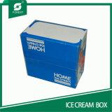 Средний размер бумаги Corruagted окно для мороженого упаковка