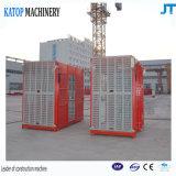 Строительный подъемник подъема конструкции клетки двойника нагрузки Sc100/100 1t