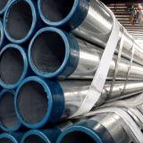 Q235 Heiß-Tauchte galvanisiertes Stahlrohr ein (GB, BS, ASTM)