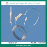 고품질 세륨 ISO 처분할 수 있는 IV 세트를 가진 의학 주입 세트