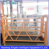 Plate-forme Zlp630/800 suspendue provisoire électrique en aluminium