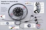 Kit eléctrico del H3AGALO USTED MISMO de la E-Bici del kit del mecanismo impulsor de la empanada 5 de la generación 500W-1000W del kit eléctrico mágico de la bici