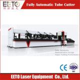 Máquina de grabado del corte del laser del tubo del metal para el proceso por lotes