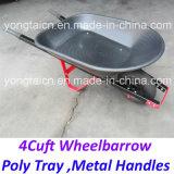 Il poli metallo del cassetto dell'America 4cuft tratta la carriola per Gardenning
