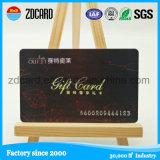 Cartão de membro popular de PVC com superfície brilhante