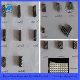 Yg8 Material Tungsten Carbide Jaw Insert for Mining Machine