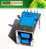 USB3.0 Pin del fermaglio 9, serie di B del tipo R/a del TUFFO per la strumentazione della stampante