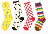 2016 Nouvelle conception des femmes Happy Socks (DL-ws-116)
