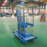 Elevación hidráulica de la escala de la pequeña máquina de la elevación hidráulica