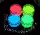 Glühen im dunklen Pigment