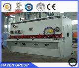 Máquina de corte da guilhotina hidráulica de QC11Y-20X3200 E21S, máquina de estaca da placa de aço