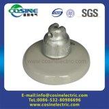 Disco de cerámica/porcelana aislante 52-3/52-5/52-8 aprobadas por el ANSI