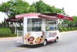 تحميص طعام شاحنة/طعام عربة مع جميلة ظلة ومأوى