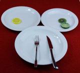 Utensílios de mesa das placas dos pratos cerâmicos de Europa