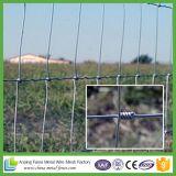 Загородка ячеистой сети фермы поголовья гальванизированная сплетенная для животных