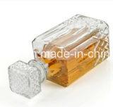 1000mlダイヤモンドの切口のデカンターのワイングラスのびん