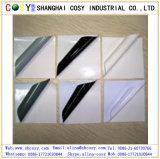 Weißes/Graues/Schwarz-entfernbarer Kleber bedruckbares Belüftung-selbstklebendes Vinyl