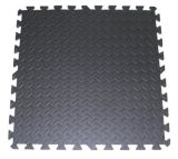 Mattonelle di collegamento di puzzle di esercitazione della stuoia di alta qualità della gomma piuma nera di EVA