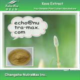 Выдержка 100% естественная Kava Kava (30% 70% Kavalactones/4: 1~20: 1)