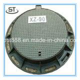 Couverture de trou d'homme malléable du fer F600 avec la norme En124
