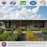 Sinoacmeのプレハブの鋼鉄金属の小屋の構造
