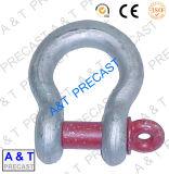 手錠、ステンレス鋼の手錠、造られた手錠、装備のハードウェア