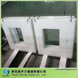 Range Hood Cooker Hood를 위한 4mm/5mm/6mm White Tempered Clear Float Glass Panel