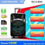 Grand haut-parleur sans fil de Bluetooth de batterie rechargeable de haut-parleur de Bluetooth de pouvoir