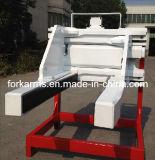 フォークリフトのブロッククランプか煉瓦クランプ