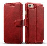 優れた革札入れのiPhone 8/8plus/7/7plusのための移動式携帯電話の箱