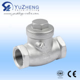 H14W Stainless Steel Thread CHECK valve