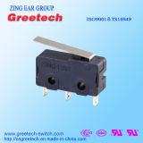 Мини-Электрическая Micro переключатель с тремя контактами рычаг для электрических устройств автомобиля