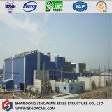 Central eléctrica de acero pesada con la alta estructura del marco de la subida