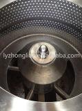 Pgz1000 tipo centrifugador liso do filtro da descarga do raspador da parte inferior