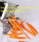 Mini pommes frites coupeur, machine de découpage de pomme de terre