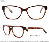 Dame Fashion Acetate Optical Frame Bril met Steen