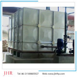 Tanque de água retangular resistente à corrosão da fibra de vidro SMC de FRP