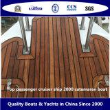 De hoogste Boot van de Catamaran van het Schip 2000 van de Kruiser van de Passagier