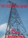 Torretta di potere della sospensione di Megatro 110kv 1c4 Zm2