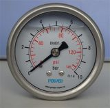 63mm Jauge de pression de liquide de glycérine 10 bar