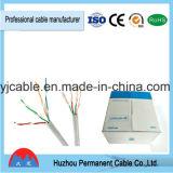 Catégorie 5 de câble LAN 8 paires de câble d'UTP Cat5e